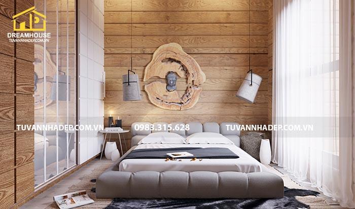 thiết kế nội thất phòng ngủ bố mẹ