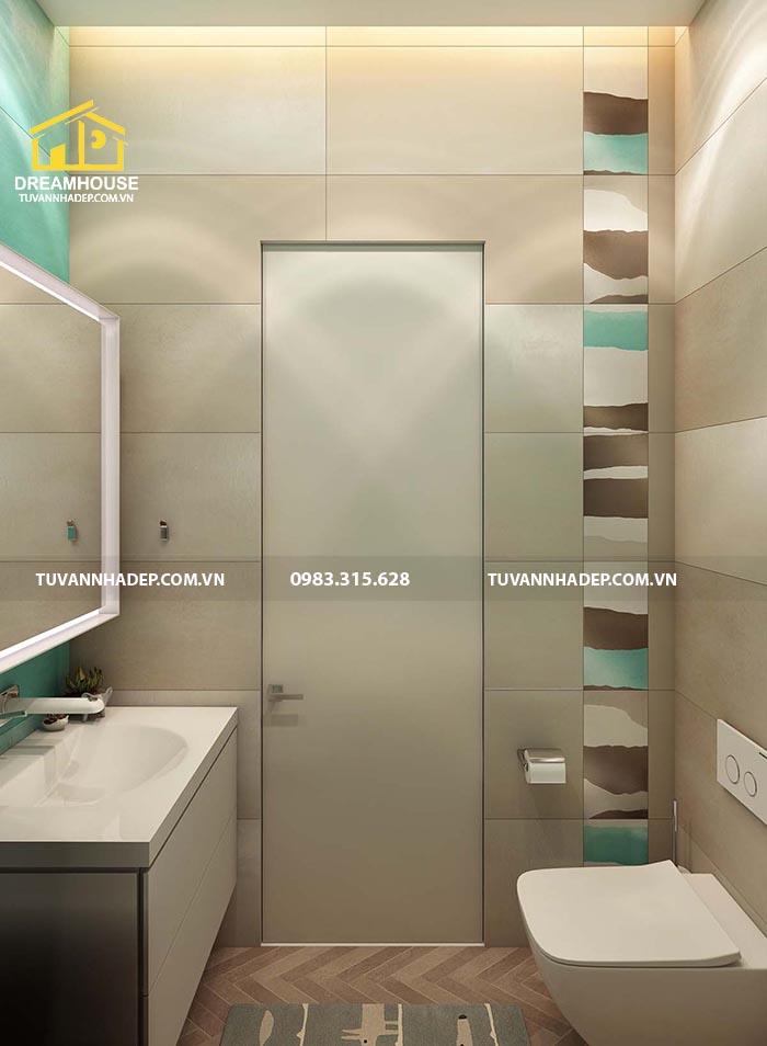 nhà vệ sinh được thiết kế đẹp