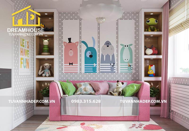 hình ảnh phòng ngủ đẹp dành cho bé