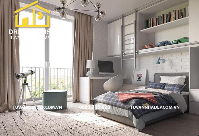 mẫu phòng ngủ đẹp chan hòa ánh sáng