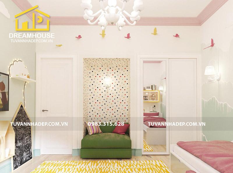 hình ảnh phòng ngủ đẹp cho con gái