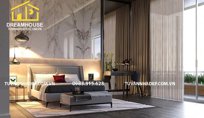 thiết kế nội thất phòng ngủ con gái hiện đại