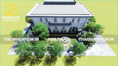 Xu hướng thiết kế sân vườn biệt thự 2018