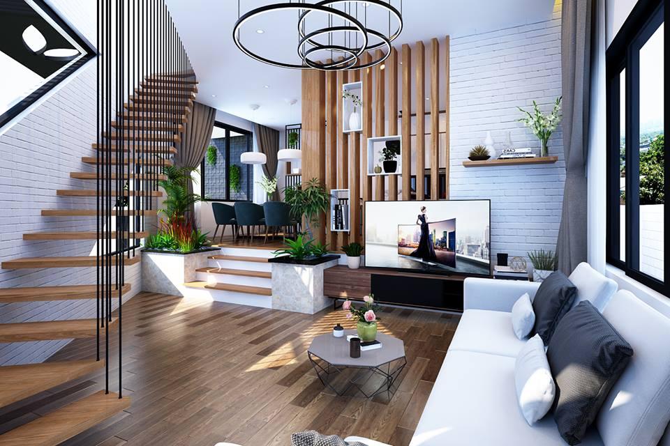 Một góc của không gian phòng khách