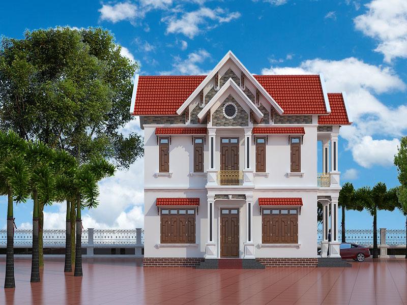 Ngôi nhà đơn giản đẹp giá rẻ