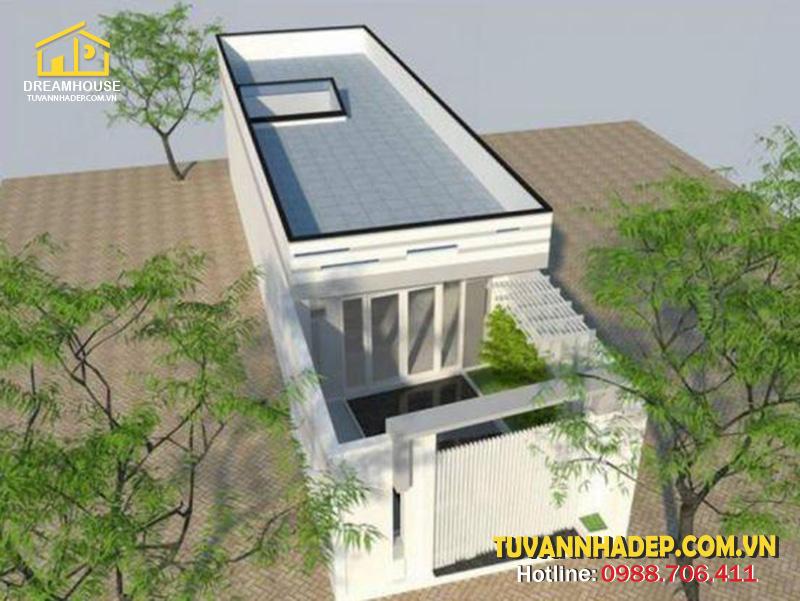 hình ảnh cải tạo nhà cấp 4 thành 2 tầng
