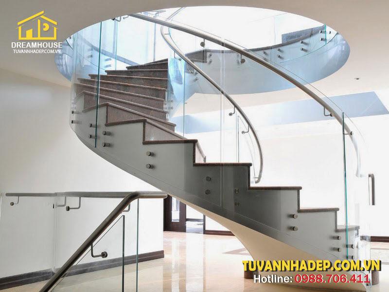 Cầu thang hình xoắn ốc