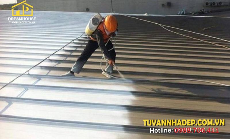 cách chống thấm cho trần nhà bê tông