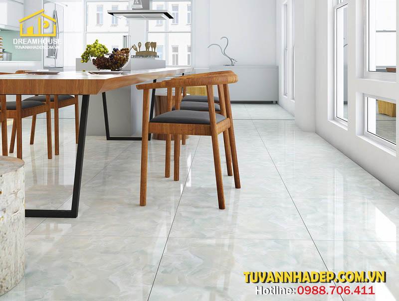 cách chọn gạch lát sàn cho phòng ăn