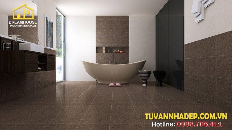 hướng dẫn chọn gạch lát sàn cho phòng tắm