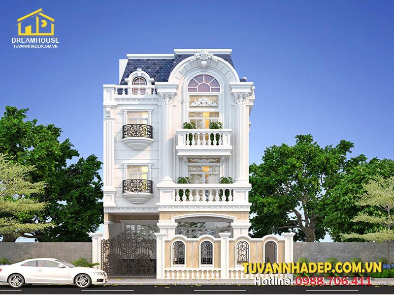 Ngôi nhà xây dựa trên nhiều yếu tố phong thủy