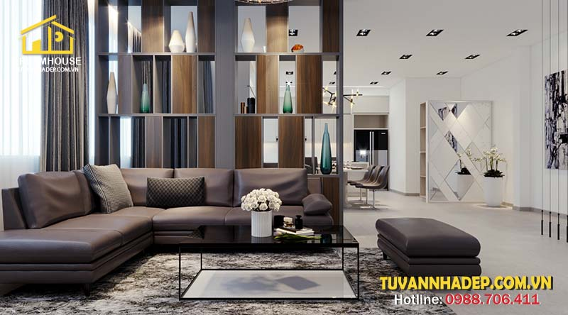nội thất kiểu dáng đơn giản là lựa chọn hàng đầu cho phòng khách nhỏ