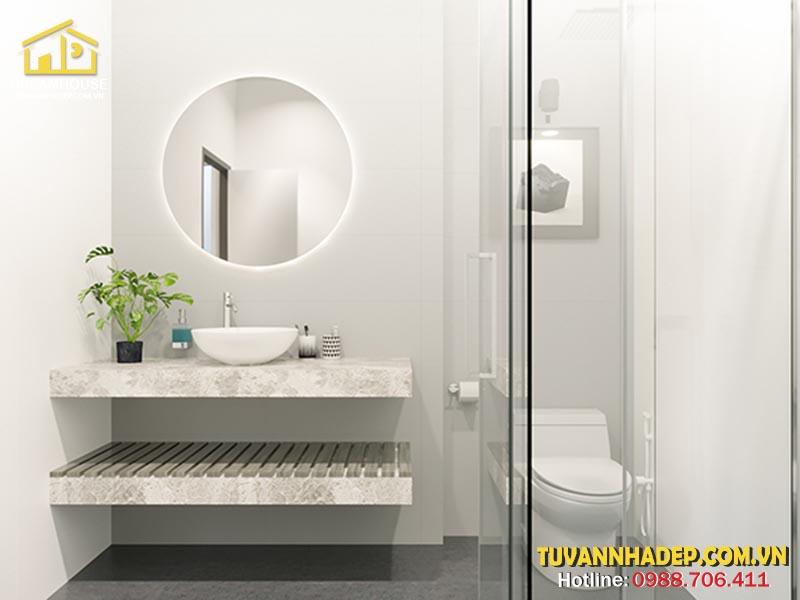 Thiết kế nhà vệ sinh đơn giản