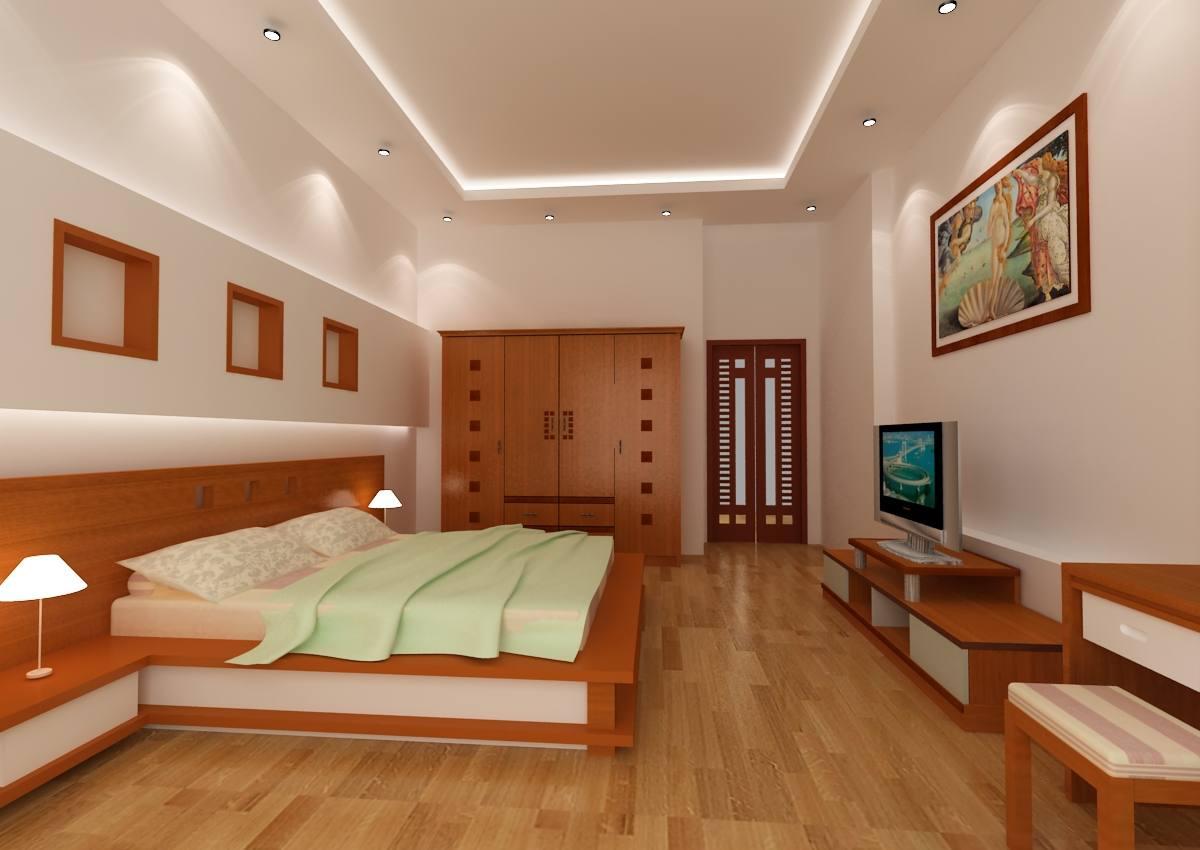 thiết kế phòng ngủ cho bố mẹ và con