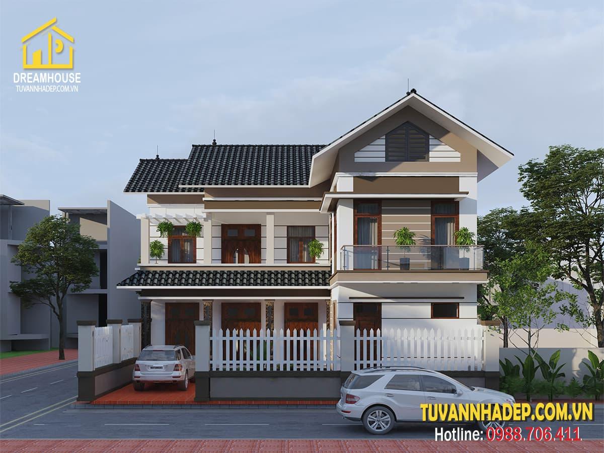 Ngôi nhà thật đẹp với cách thiết kế đơn giản đến tinh tế