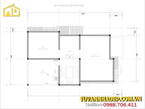 Tầng tum giúp điều hòa nhiệt độ bên trong ngôi nhà