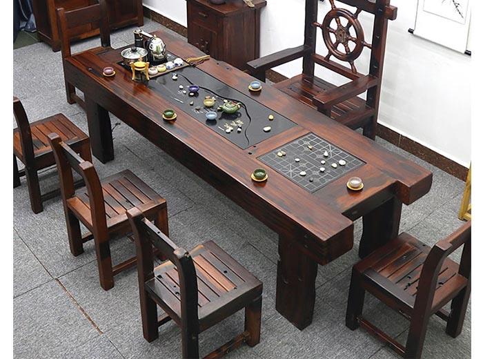 mẫu bàn phòng khách bằng gỗ sang trọng