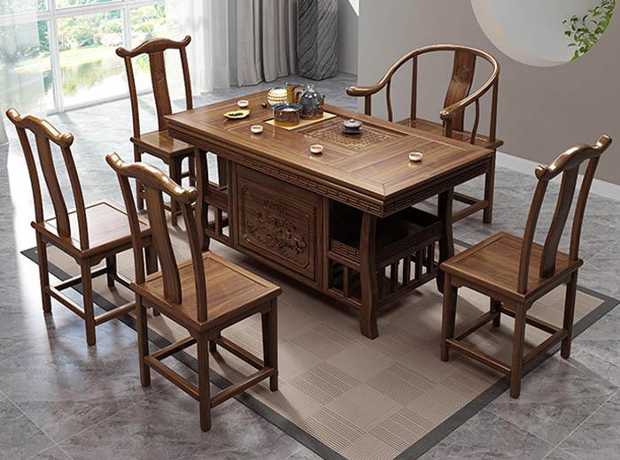 bàn phòng khách bằng gỗ đẹp