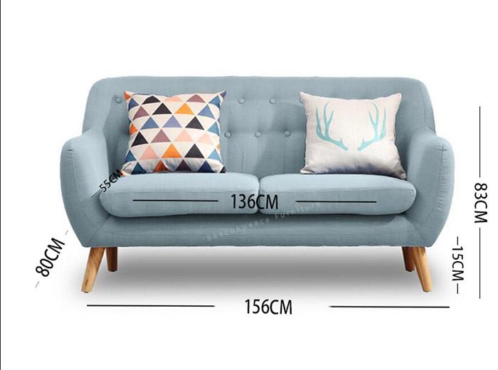 ghế nệm nhỏ cho phòng khách