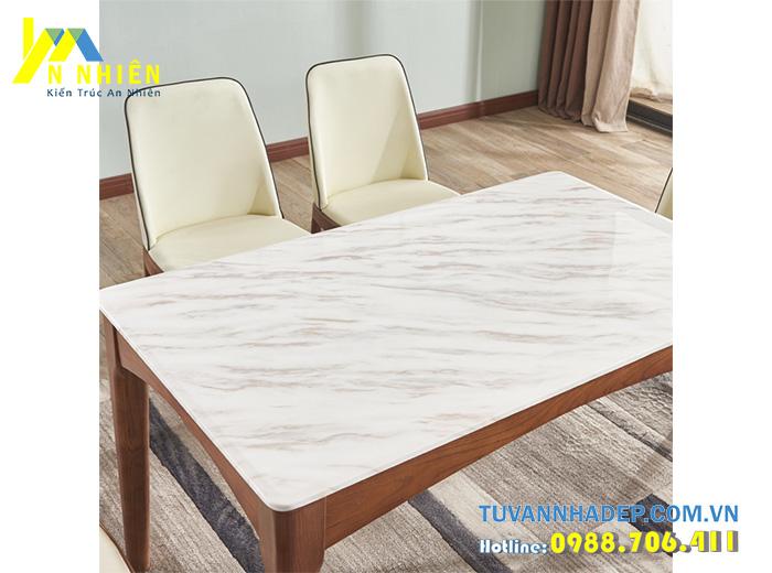 mặt bàn bằng đá cẩm thạch