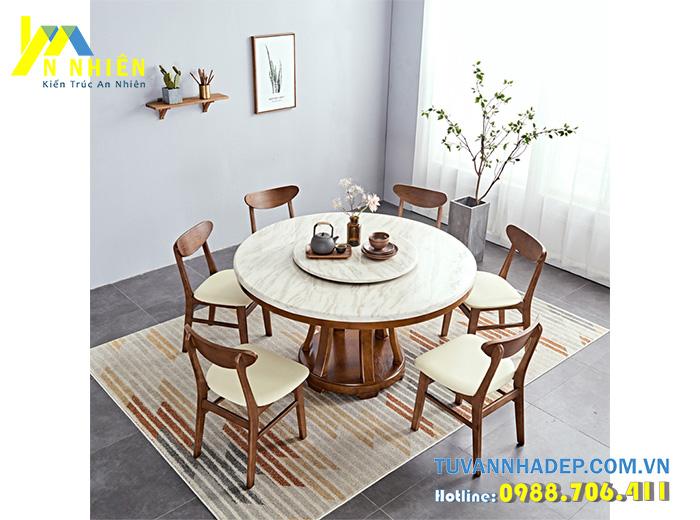 bàn ăn bằng đá concorde