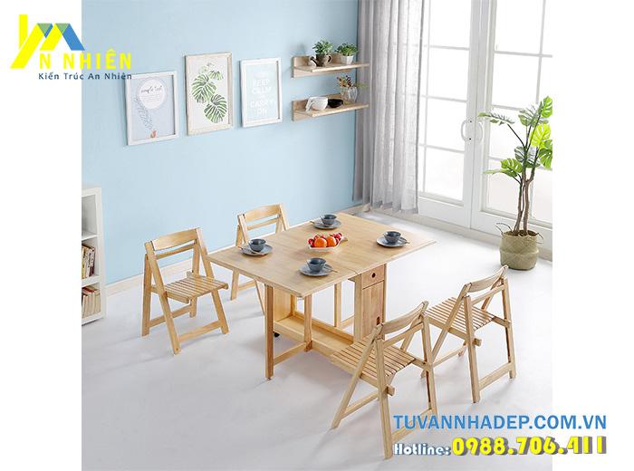 bàn ăn bằng gỗ căm xe