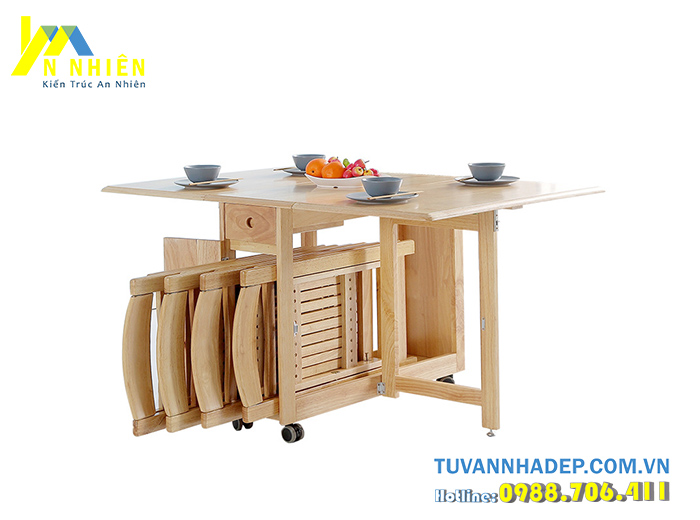 mẫu bàn ăn hiện đại bằng gỗ căm xe