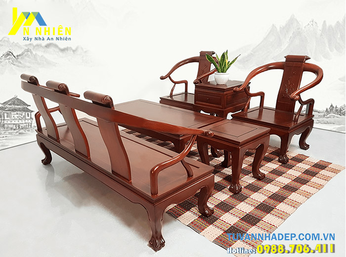 ghế đẹp bằng gỗ căm xe