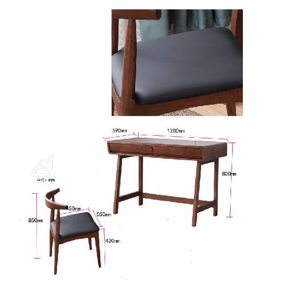 Ghế có thiết kế nệm êm tạo sự thoải mái
