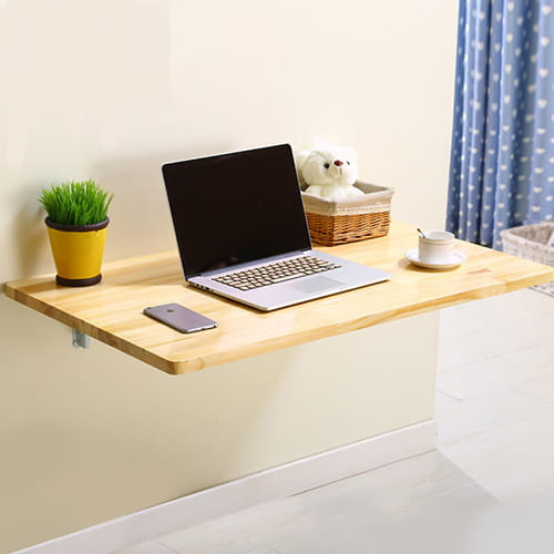 Ý tưởng tự thiết kế không gian làm việc tại nhà với bàn treo