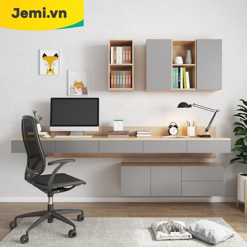 Không gian làm việc tại nhà hiện đại tiện nghi chỉ với diện tích nhỏ