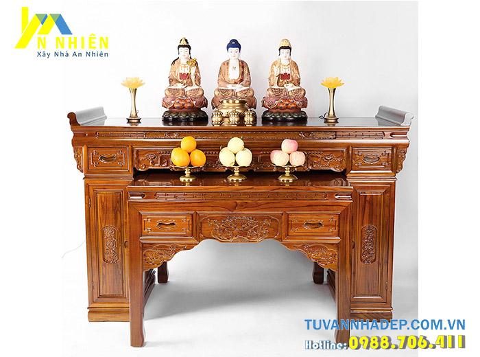 hình ảnh bàn thờ gỗ đẹp