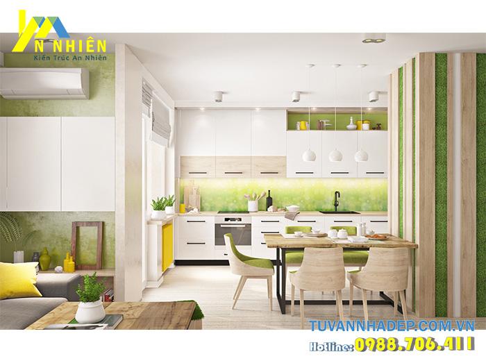 bếp đẹp cho chung cư đẹp