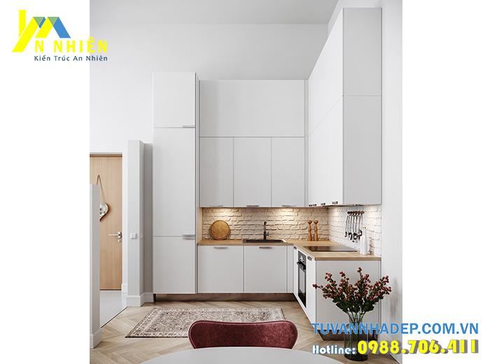 mẫu bếp đẹp cho chung cư