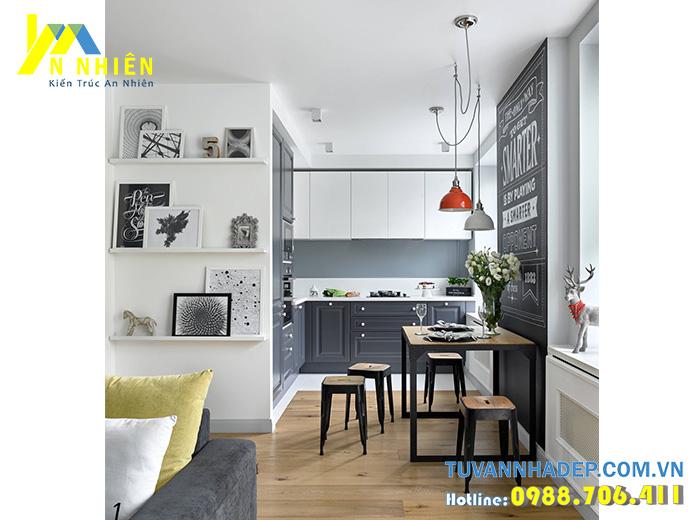 căn bếp nhỏ cho chung cư
