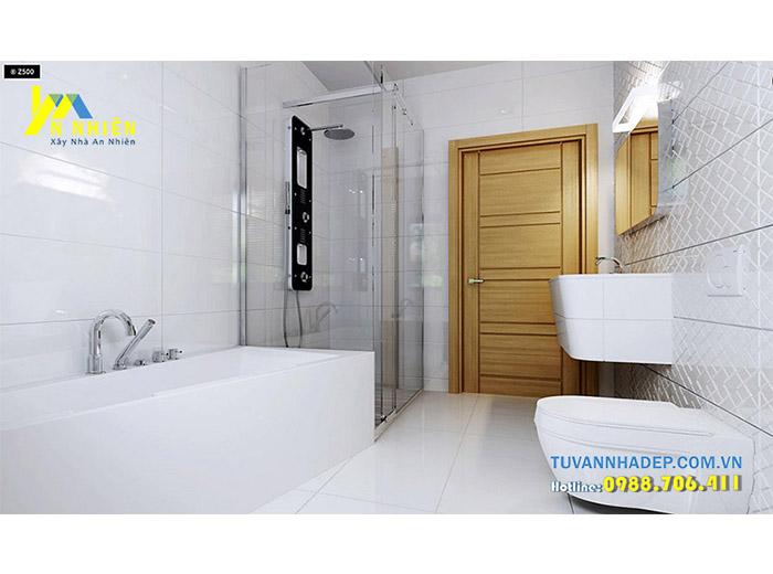 phòng tắm được trang bị hiện đại