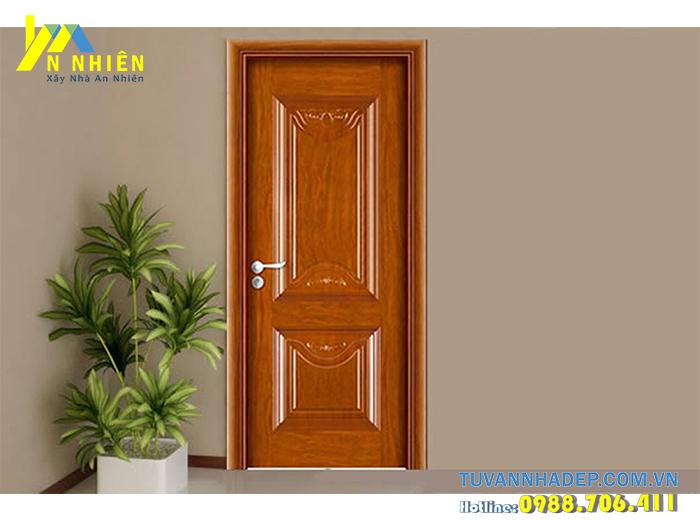 cửa bằng gỗ căm xe