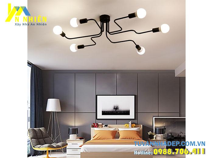 đèn trần hiện đại cho phòng ngủ hiện đại