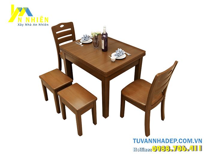 ghế ăn bằng gỗ