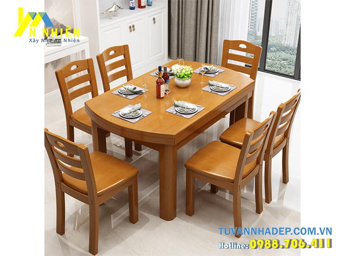 ghế ăn làm bằng gỗ