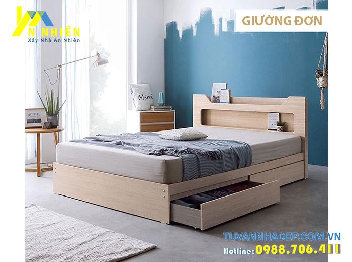 hình ảnh giường gỗ đẹp