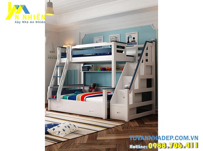 hình ảnh giường tầng đẹp cho bé trai