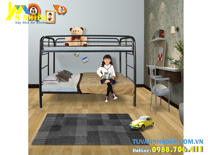 hình ảnh giường tầng inox đẹp