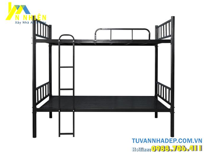 mẫu giường tầng inox cho trẻ em