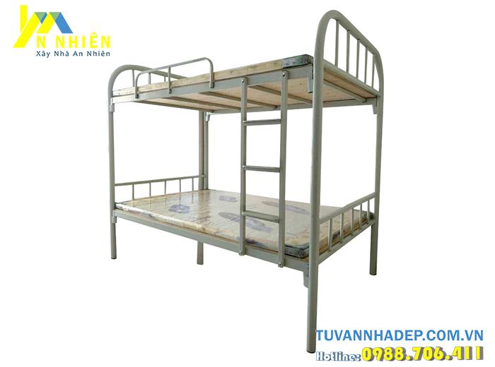 giường tầng inox đơn giản
