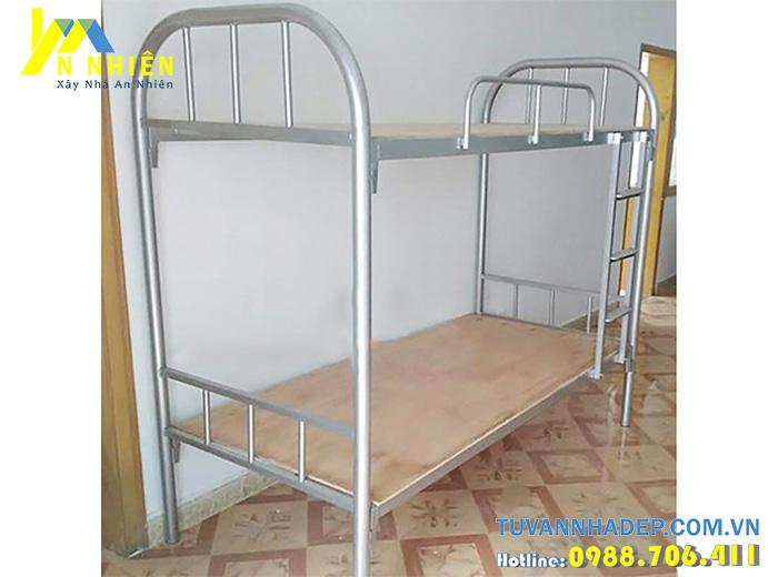 mẫu giường 2 tầng bằng sắt giá rẻ