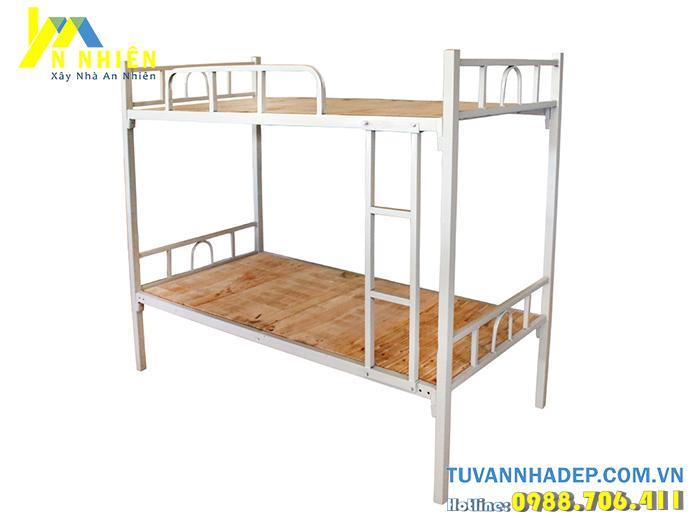 giường tầng sắt đơn giản