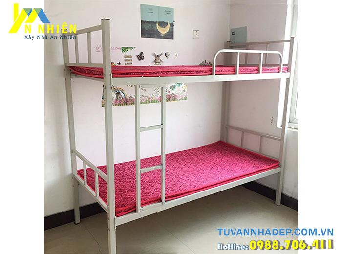 giường tầng bằng sắt giá rẻ