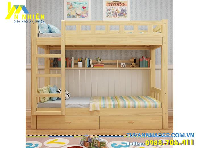 mẫu giường 2 tầng đẹp