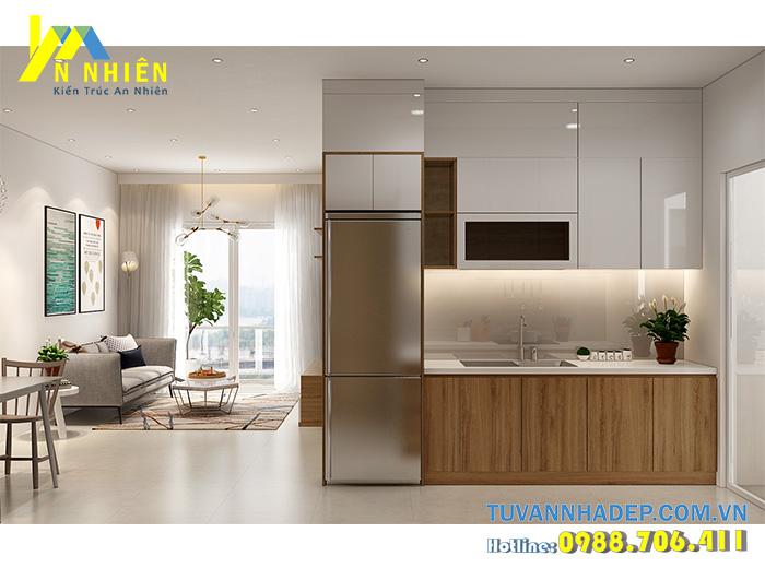 hình ảnh phòng bếp đơn giản